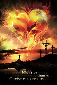 christian posters - Gods love