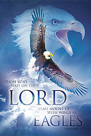 christian posters, eagles wings