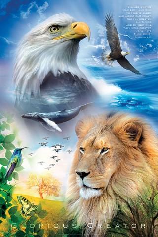Christian Wall Art: Glorious Creator