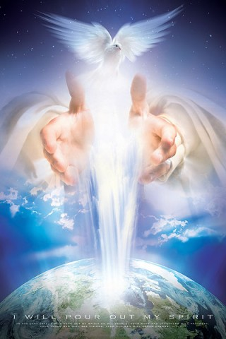 Christian wall art: I WILL POUR OUT MY SPIRIT