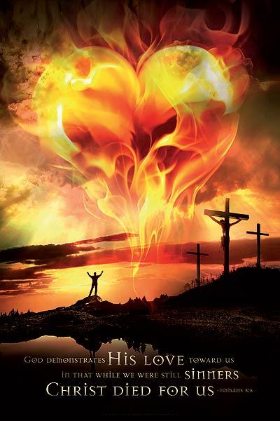 jesus poster love god