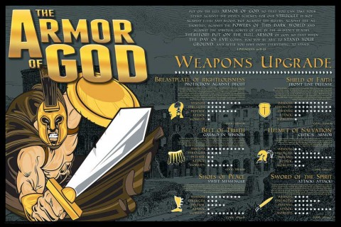 christian posters for youth - Armor of God