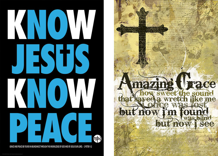 christian inspirational posters