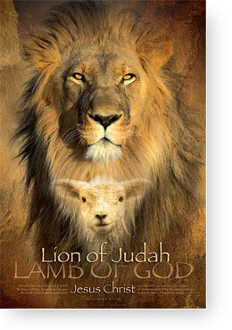 Christian inspirational posters - lion of judah