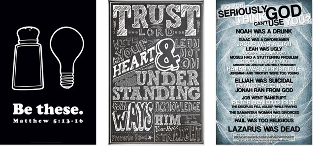 religious posters - ONE