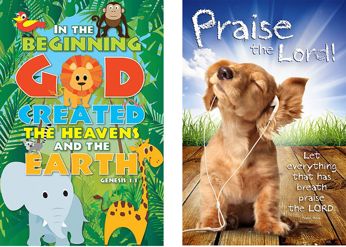 christian posters for kids