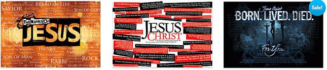 jesus posters landscape