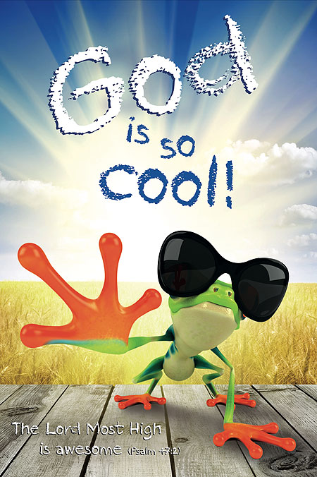 christian posters kids god cool