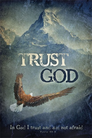 christian religious bible posters trust god eagle