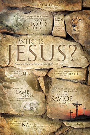 jesus poster who is jesus