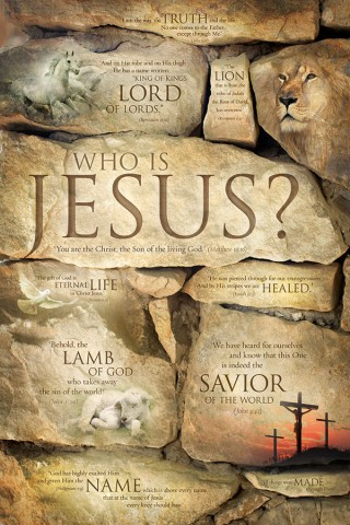 WHO IS JESUS? Jesus poster