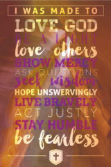christian religious bible posters fearless love